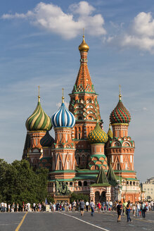 Russia, Moscow, Saint Basil's Cathedral - FO006716