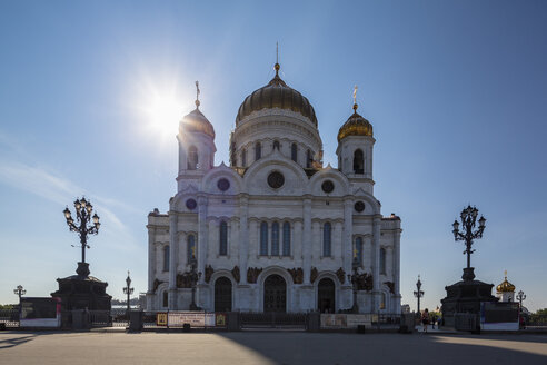 Russia, Moscow, Cathedral of Christ the Saviour - FO006745