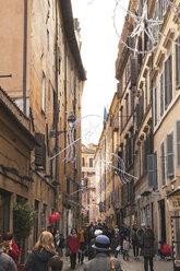 Italy, Lazio, Rome, Campo de? Fiori, Pedestrian area - GW003136