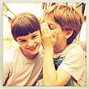 Germany, Whispering sibblings - LVF001776