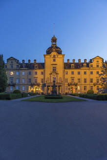 Germany, Lower Saxony, Bueckeburg Castle in the evening - PVC000094