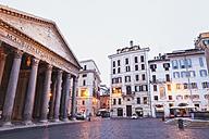 Italy, Lazio, Rome, Pantheon, Piazza della Rotonda - GW003107