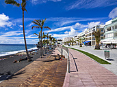 Spain, Balearic Islands, Puerto Naos, Beach promenade - AMF002709