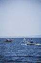 Spain, Andalusia, Tarifa, Fishing boats - KB000123