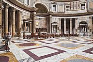 Italy, Rome, interior of Pantheon - GW003269