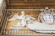 Italy, Rome, angel in Basilica Santa Maria in Aracoeli - GW003273