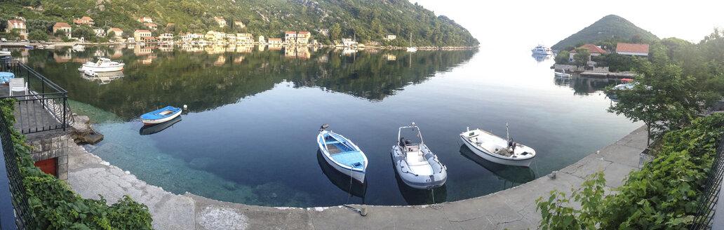 Harbor in Prozurska Luka, Croatia, Mljet, Panorama - DISF000978