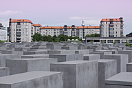 Germany, Berlin, Holocaust Memorial, Concrete stelaes - WI000951