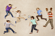 Children playing soccer - BAEF000723
