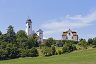Germany, Bavaria, Upper Bavaria, Rott am Inn, Church St. Marinus and Anianus, former Benedictine monastery - SIEF005863