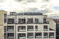 Germany, Berlin, part of facade of a hotel - HCF000064