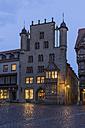Germany, Lowe Saxony, Hildesheim, Market place, Tempelhaus - PVCF000100