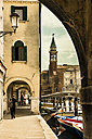 Italy, Province of Venice, Chioggia, townscape with church tower - APF000004