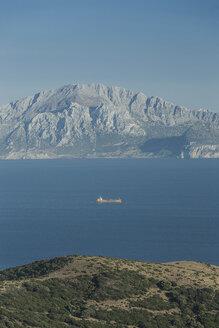 Spain, Tarifa, View from Strait of Gibraltar to Morocco - KBF000149