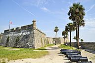 USA, Florida, St. Augustine, Castillo de San Marcos - BR000625