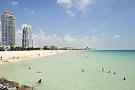 USA, Florida, Miami Beach, South Pointe Beach - BRF000647