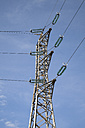 France, Alsace, Fessenheim, Power pylon - WIF000976