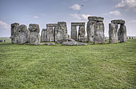 United Kingdom, England, Wiltshire, View of Stonehenge - ZCF000143