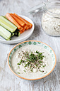 Vegetable sticks with oat dip - EVGF000897