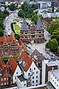 Germany, Schleswig-Holstein, Luebeck, Old Town, Holsten Gate - KRPF001030