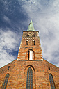 Germany, Lubeck, Tower clock at St Jacobi Church - KRPF001037