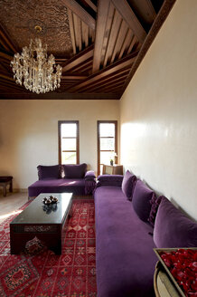Morocco, Fes, suite at Hotel Riad Fes - KMF001423