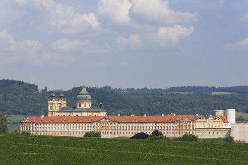 Austria, Lower Austria, Mostviertel, Wachau, View of Melk Abbey - SIEF005904