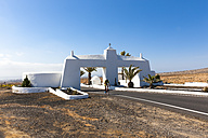 Spain, Canary Islands, Lanzarote, Gate to Costa Teguise - AM002791