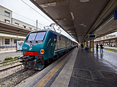 Italy, Sicily, Palermo, Station and train - AM002801