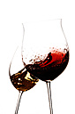 Red wine and white wine being aired - IPF000154