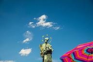 Czechia, Prague, Statue of Saint John of Nepomuk, Charles brigde - WGF000440