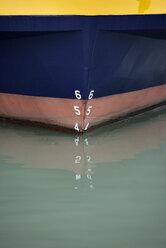 USA, California, San Francisco, close-up of ship in water - BRF000746