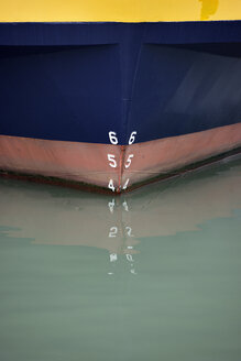 USA, California, San Francisco, close-up of ship in water - BRF000746