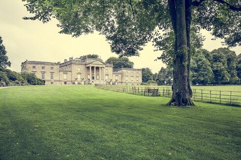 United Kingdom, England, Wiltshire, Stourton, Garden of Stourhead, Stourhead House, Palladian architecture - DIS001020
