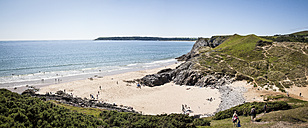 United Kingdom, Wales, Gower Peninsula, Three Cliffs Bay, Area of Outstanding Natural Beauty - DISF001003