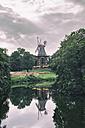Germany, Bremen,Am Wall Windmill - KRPF001083