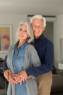 Portrait of happy senior couple - CHAF000159