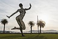 USA, California, San Francisco,  Treasure Island, Bliss Dancer Sculpture - FO007059