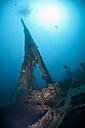 Croatia, Cres, Wreck diving at wreck Lina - ZCF000173