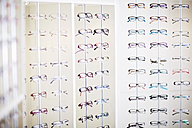 Assortment of glasses in an optician shop - ZEF000587