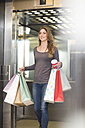 Young woman with shopping bags - ZEF000174