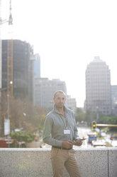 Businessman with digital tablet - ZEF000213