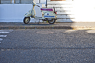 Vespa parking at pavement - ZE000850