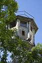 Germany, Berlin, Watchtower of the former GDR at Potsdam Square - WIF001028