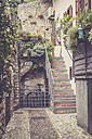 Italy, Lake Garda, Malcesine, small alley - SARF000821