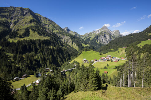 Austria, Vorarlberg, Hochtannberg Mountain Pass near Schroecken - STSF000501