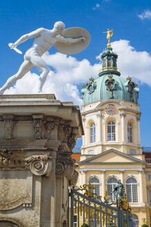 Germany, Berlin, statue at Charlottenburg Palace - KRP001107