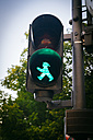 Germany, Berlin, walk signal, traffic-light man - KRP001110