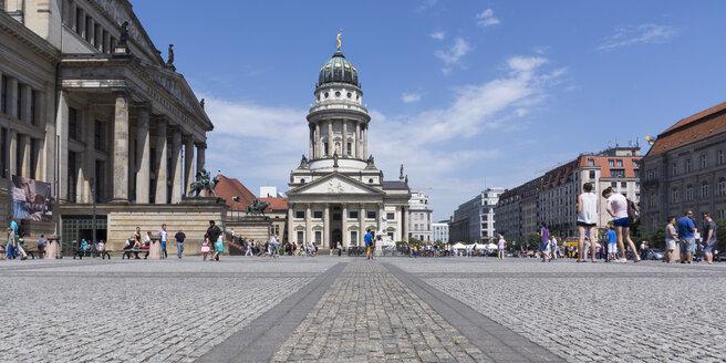 Germany, Berlin, Berlin-Mitte, Gendarmenmarkt, French Cathedral - WIF001053
