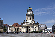 Germany, Berlin, Berlin-Mitte, Gendarmenmarkt, French Cathedral - WIF001055